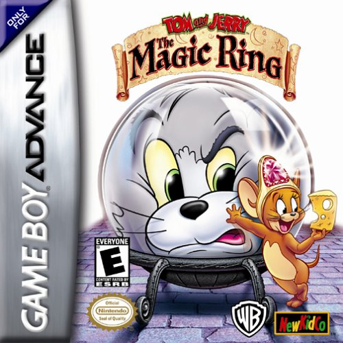 Caratula de Tom and Jerry: The Magic Ring para Game Boy Advance