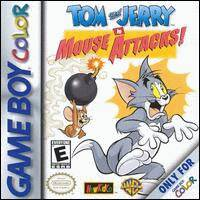 Caratula de Tom and Jerry in Mouse Attacks! para Game Boy Color