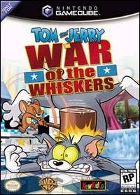 Caratula de Tom and Jerry in War of the Whiskers para GameCube