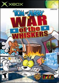 Caratula de Tom and Jerry in War of the Whiskers para Xbox