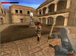 Pantallazo de Tomb Raider: The Last Revelation para Dreamcast