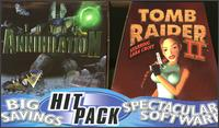 Caratula de Tomb Raider II/Total Annihilation Hit Pack para PC