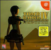 Caratula de Tomb Raider IV: The Last Revelation para Dreamcast