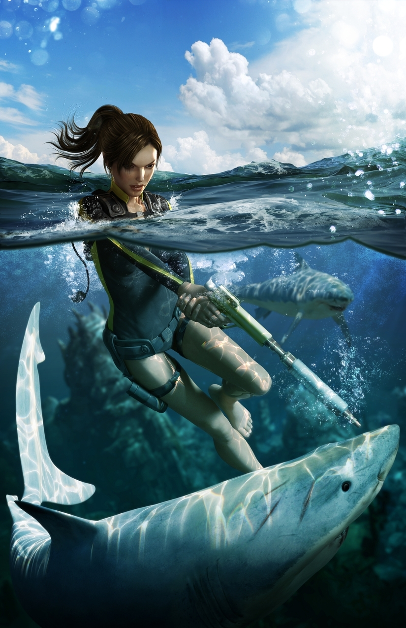 Imagenes de Tomb Raider Underworld