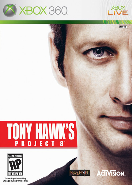 Caratula de Tony Hawk's Project 8 para Xbox 360