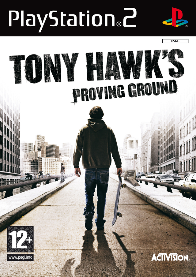 Caratula de Tony Hawk's Proving Ground para PlayStation 2
