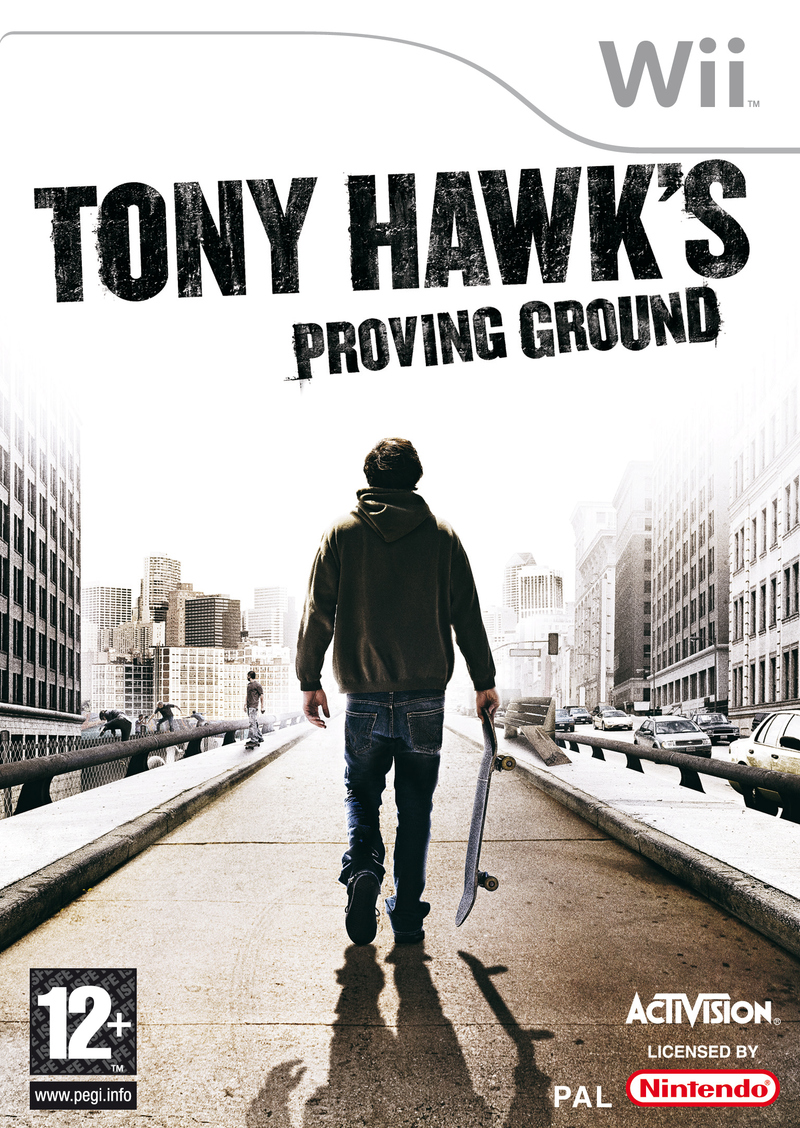 Caratula de Tony Hawk's Proving Ground para Wii