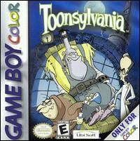Caratula de Toonsylvania para Game Boy Color