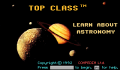 Pantallazo nº 69366 de Top Class: Learn about Astronomy (320 x 200)