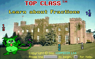 Pantallazo de Top Class: Learn about Fractions para PC