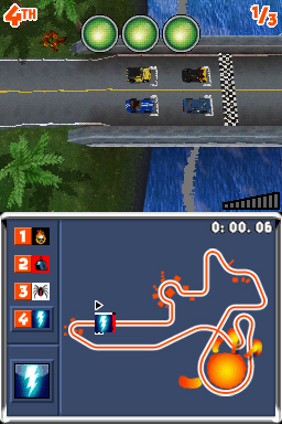 Pantallazo de Top Gear: Downforce para Nintendo DS