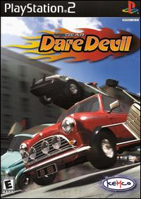 Caratula de Top Gear Dare Devil para PlayStation 2