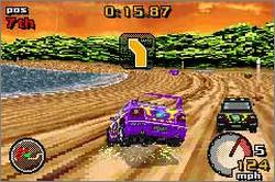 Pantallazo de Top Gear Rally para Game Boy Advance