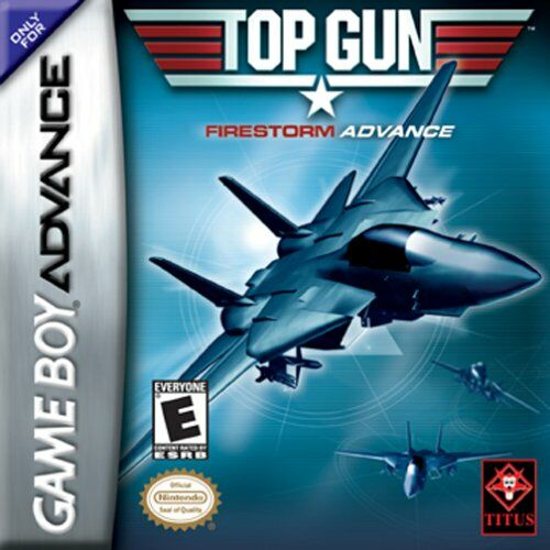 Caratula de Top Gun: Firestorm Advance para Game Boy Advance