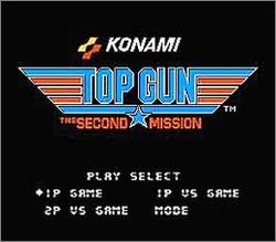 Pantallazo de Top Gun: The Second Mission para Nintendo (NES)