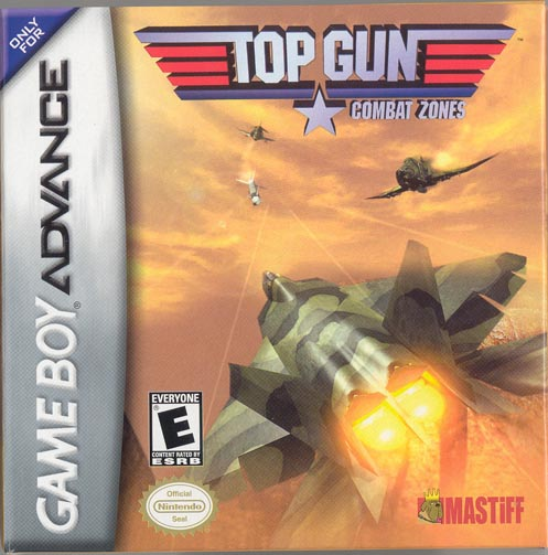 Caratula de Top Gun - Combat Zones para Game Boy Advance
