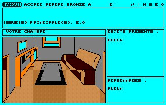 Pantallazo de Top Secret para Amstrad CPC