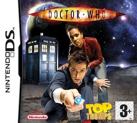 Caratula de Top Trumps: Doctor Who para Nintendo DS