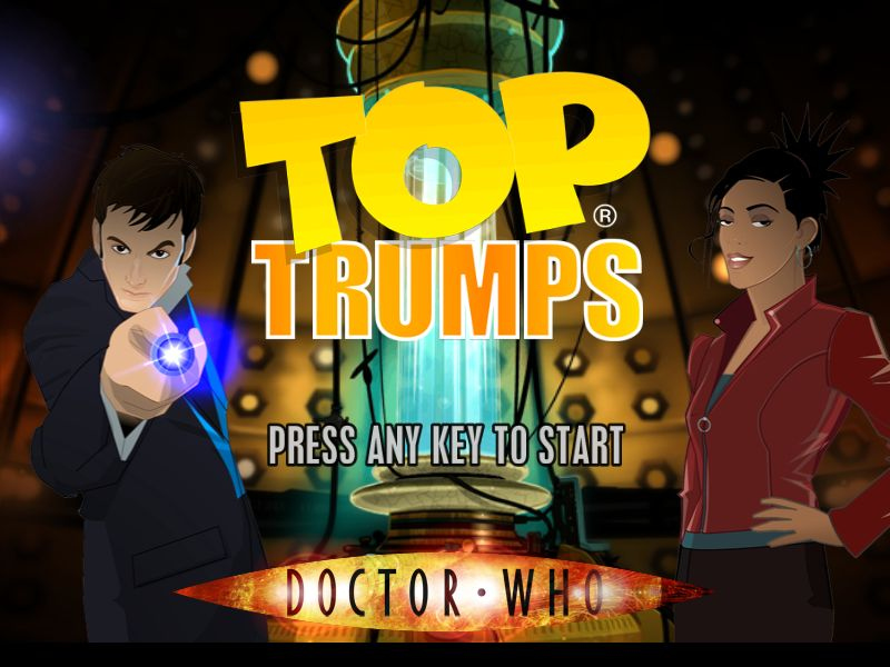 Pantallazo de Top Trumps: Doctor Who para PC