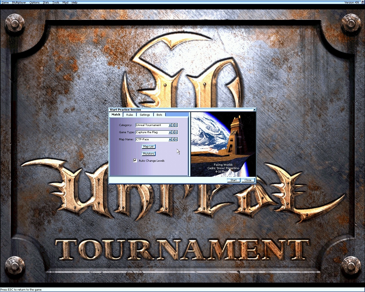 Pantallazo de Tournament para PC