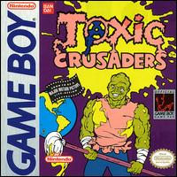 Caratula de Toxic Crusaders para Game Boy