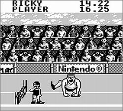 Pantallazo de Track & Field para Game Boy