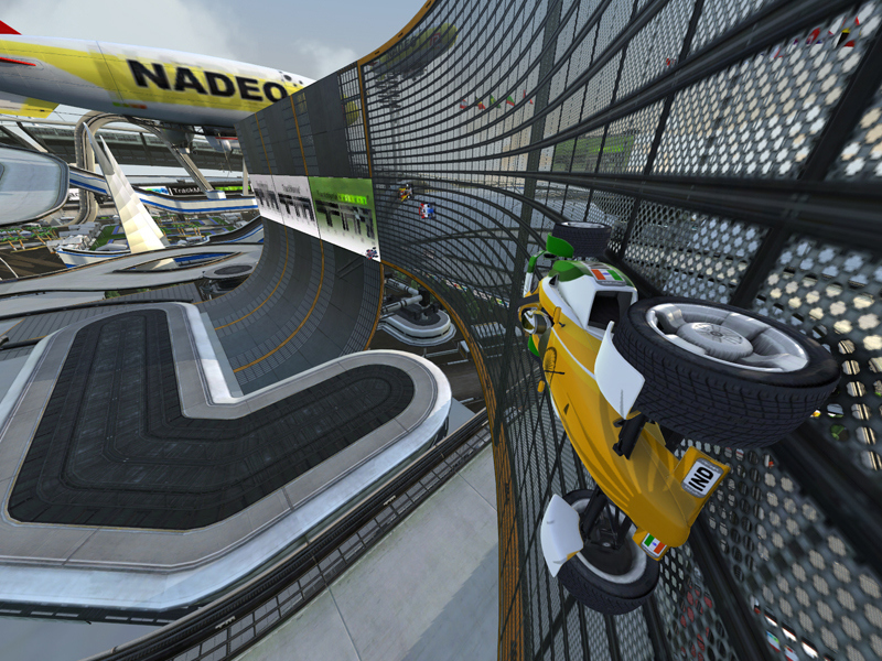Pantallazo de TrackMania Nations Forever para PC