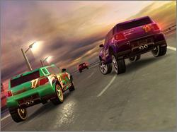 Pantallazo de TrackMania Sunrise para PC