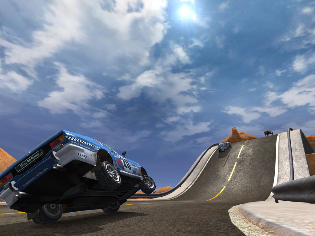 Pantallazo de TrackMania United para PC
