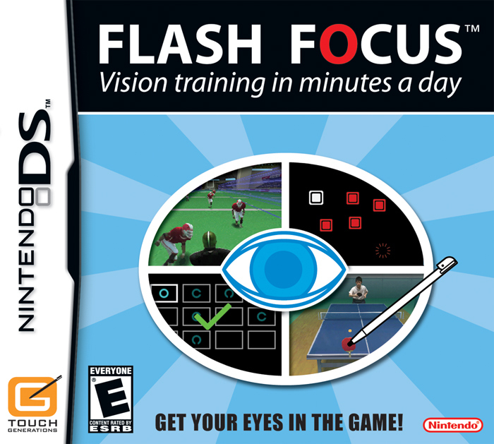 Caratula de Training for your Eyes: Entrena y relaja la vista para Nintendo DS
