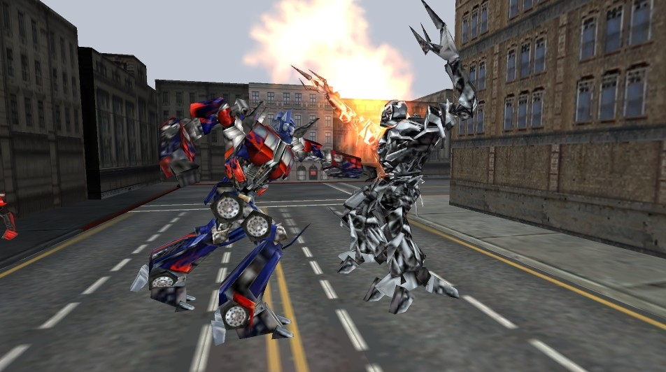 Pantallazo de TransFormers: The Game para PSP