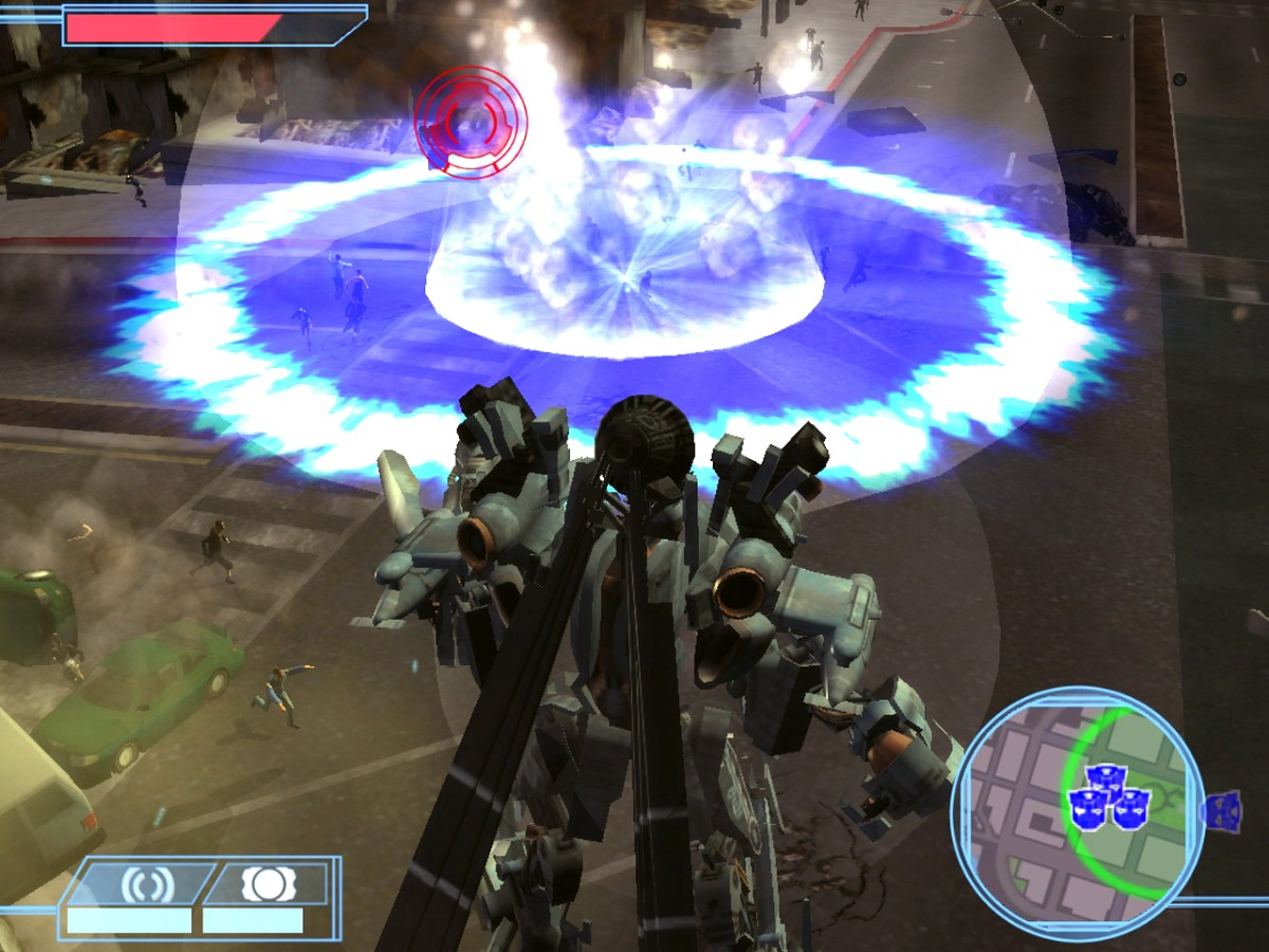 Pantallazo de TransFormers: The Game para Wii