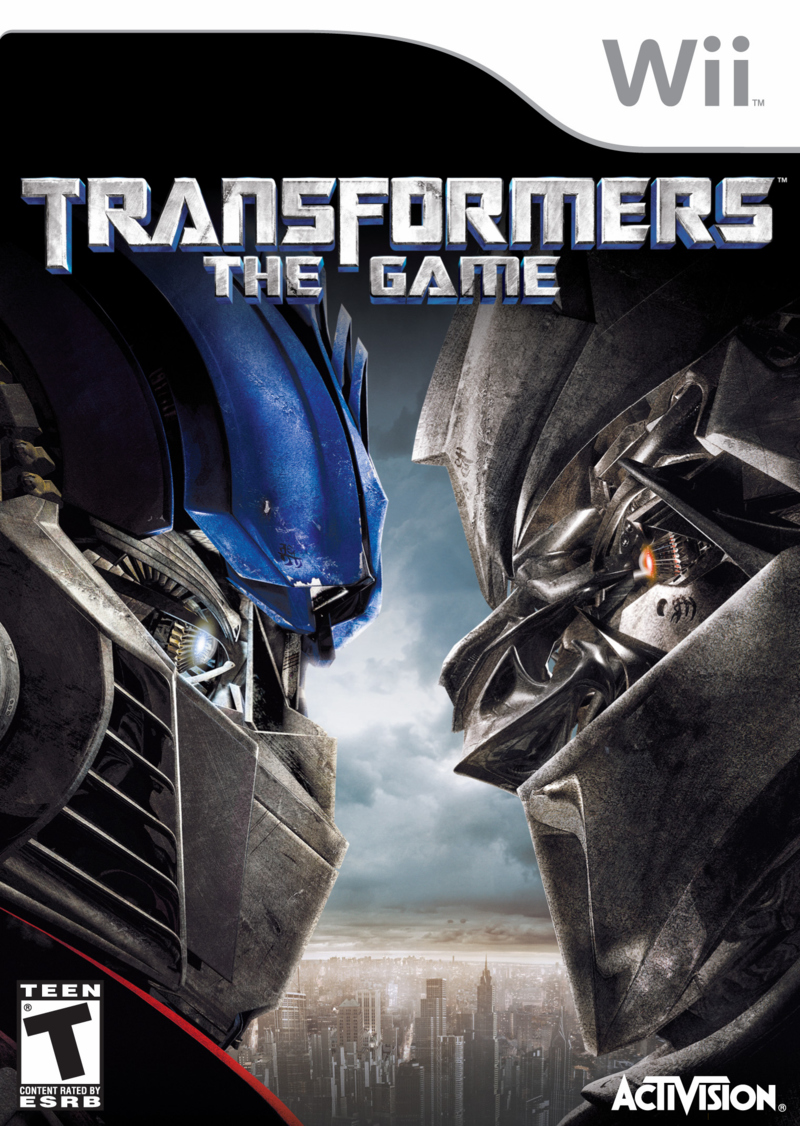 Caratula de TransFormers: The Game para Wii