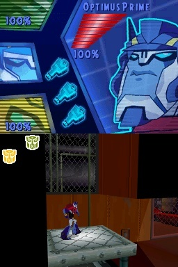 Pantallazo de Transformers Animated: The Game para Nintendo DS