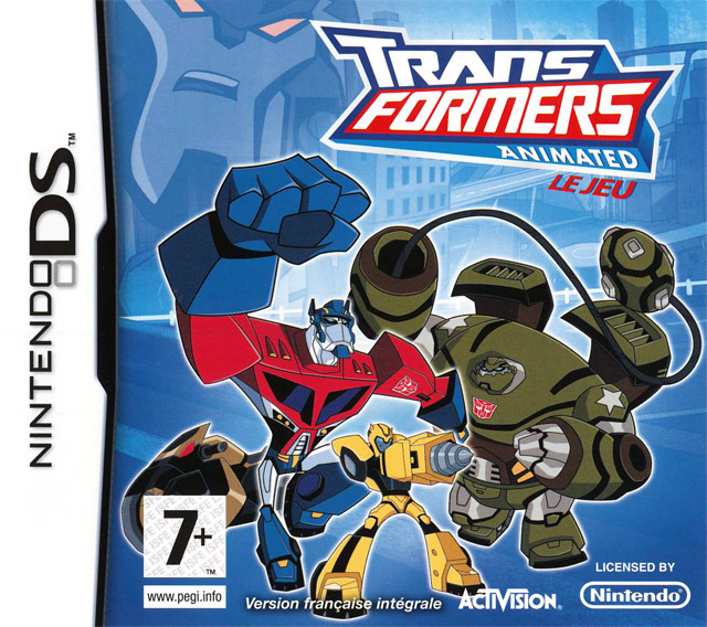 Caratula de Transformers Animated: The Game para Nintendo DS