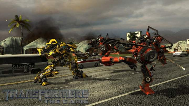 Pantallazo de Transformers The Game para PlayStation 3