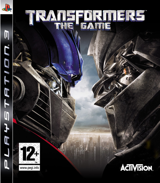Caratula de Transformers The Game para PlayStation 3
