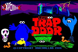 Pantallazo de Trap Door, The para Amstrad CPC