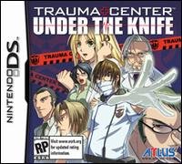 Caratula de Trauma Center: Under the Knife para Nintendo DS