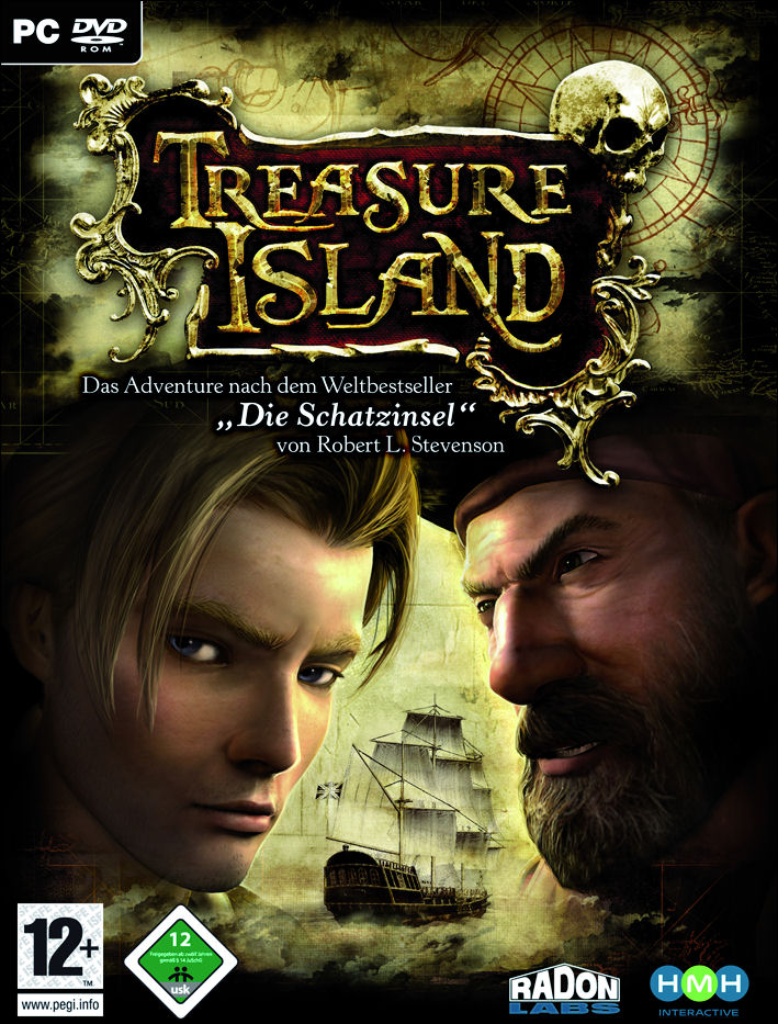 Caratula de Treasure Island para PC