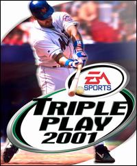 Caratula de Triple Play 2001 para PC
