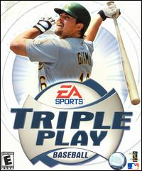Caratula de Triple Play Baseball para PC
