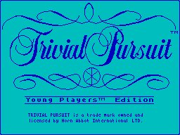 Pantallazo de Trivial Pursuit: Young Players Edition para Spectrum