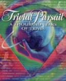 Carátula de Trivial Pursuit A Thousand Years Of Trivia