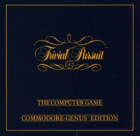 Caratula de Trivial Pursuit para Commodore 64