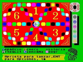 Pantallazo de Trivial Pursuit para Spectrum