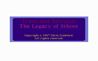 Pantallazo de Trust and Betrayal: The Legacy of Siboot para PC