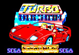 Pantallazo de Turbo Out Run para Amstrad CPC