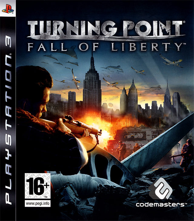 Caratula de Turning Point: Fall of Liberty para PlayStation 3