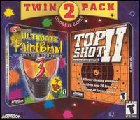 Caratula de Twin 2 Pack: Ultimate PaintBrawl 3/Top Shot II: Interactive Target Shooting para PC